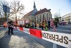 Fotos: Auto fährt in Menschenmenge – Aufruhr in Münster