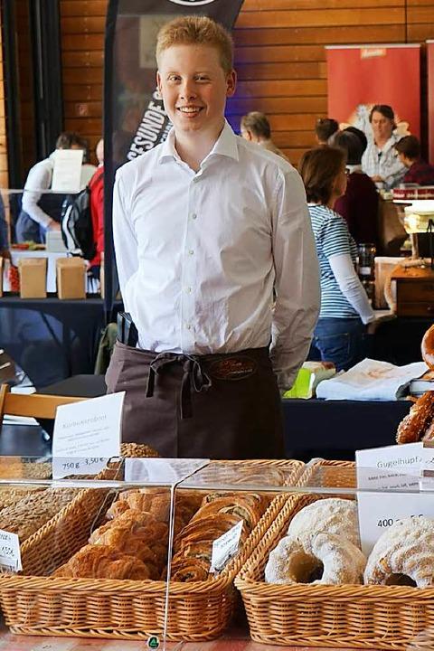 Auch Brot-Spezialitäten sind gefragt.  | Foto: Julius Wilhelm Steckmeister