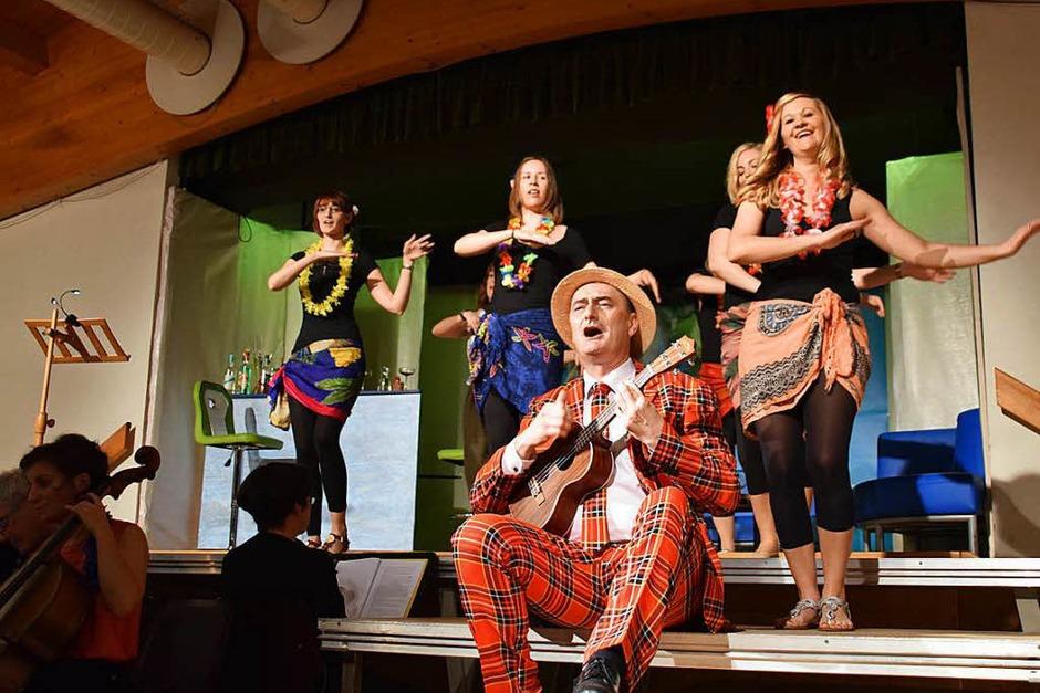 """Premiere der Operette """"Die Blume von Hawaii"""" in Schopfheim-Eichen (Foto: Stefan Ammann)"""