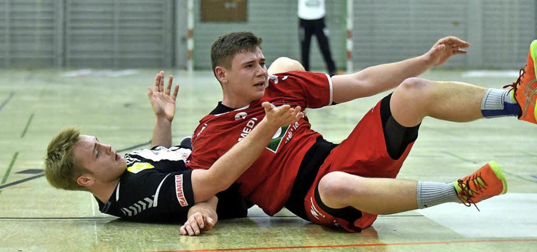 Rene Wöhrle macht nicht gerade die bes... teilweise zum Auftritt seines Teams.     Foto: Wolfgang Künstle