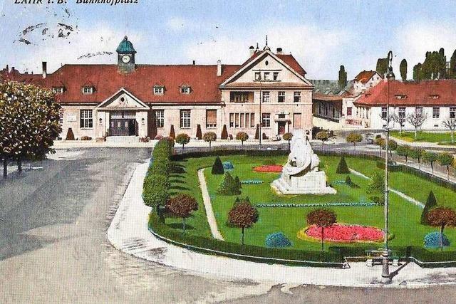 Fotos: Alte Ansichten der Lahrer Bahnhöfe