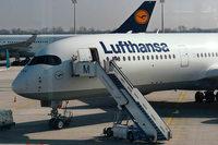 Lufthansa streicht 800 Flüge wegen Verdi-Warnstreiks