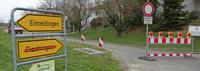 Straßensperrung sorgt für Irritation