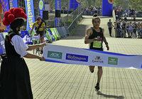 Tareq gewinnt Halbmarathon