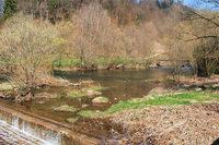 Wie der Mensch den Fluss Wiese schon immer genutzt hat