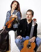 Sylvia Oelkrug und David Wendeborn in St. Märgen