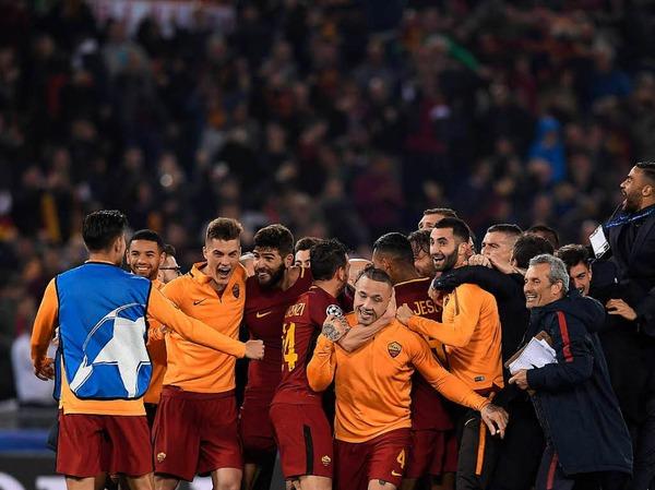 Die Sensation von Rom: Der FC Barcelona fliegt nach einer 0:3-Niederlage aus der Champions League.