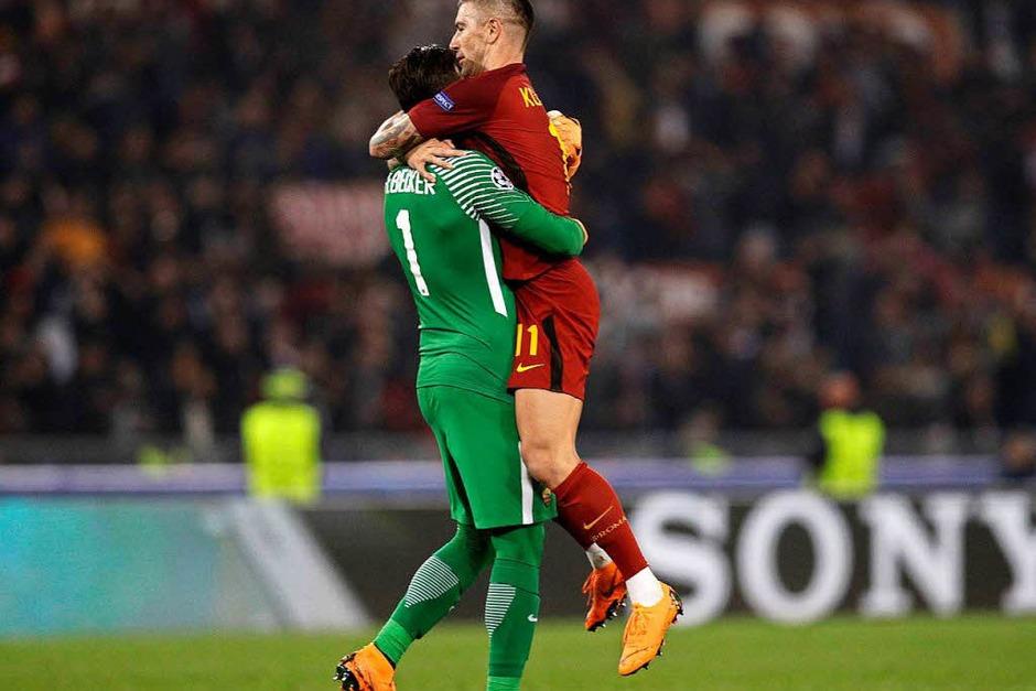 Die Sensation von Rom: Der FC Barcelona fliegt nach einer 0:3-Niederlage aus der Champions League. (Foto: dpa)