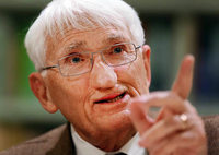 Philosoph Jürgen Habermas erhält Medienpreis