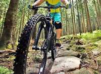 Nägel und Schnur auf Mountainbike-Strecke angebracht – wo hauptsächlich Kinder unterwegs sind