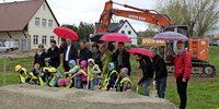 Der Bau am Kindergarten beginnt