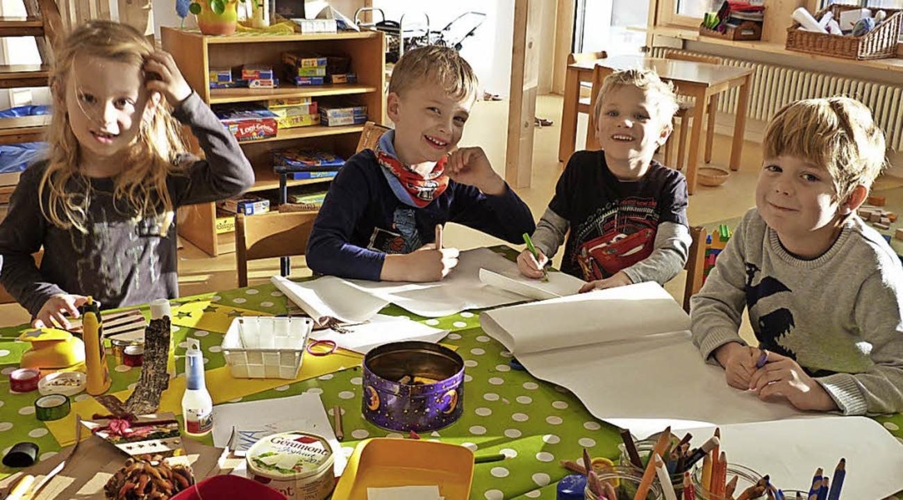 In der Luise-Scheppler-Kindertagesstät...die Nachmittagsstunden in der Gruppe.     Foto: BZ-Archiv