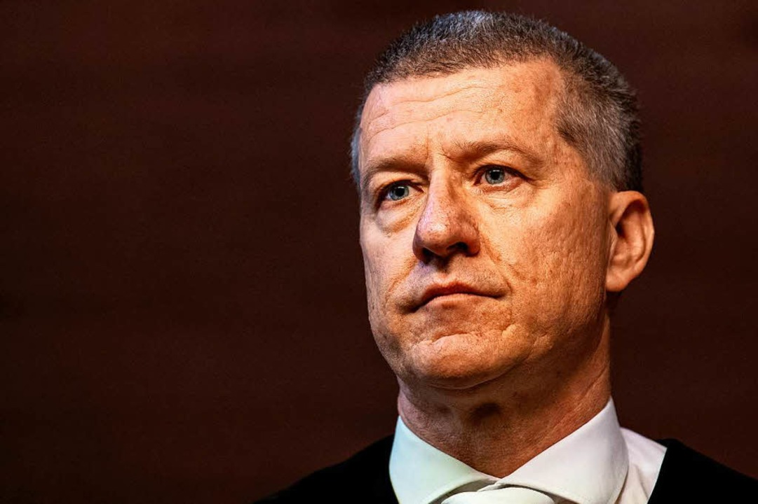 Der Vorsitzender Richter Stefan Bürgelin  | Foto: dpa