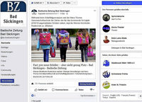 3000 Likes für die Facebook-Seite der BZ Bad Säckingen