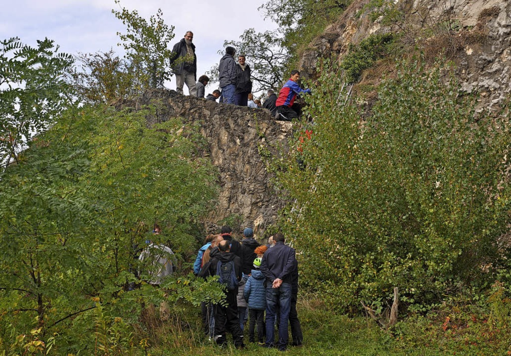 Ein Renner bei den Vereinsaktivitäten ...acht Istein, die den Aufstieg sichert.    Foto: Jutta Schütz