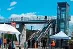 Fotos: Der Haltinger Steg – ein Meilenstein für Stadt und Bahn