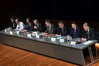 OB-Wahlkampf in Freiburg: Fünf gegen Einen