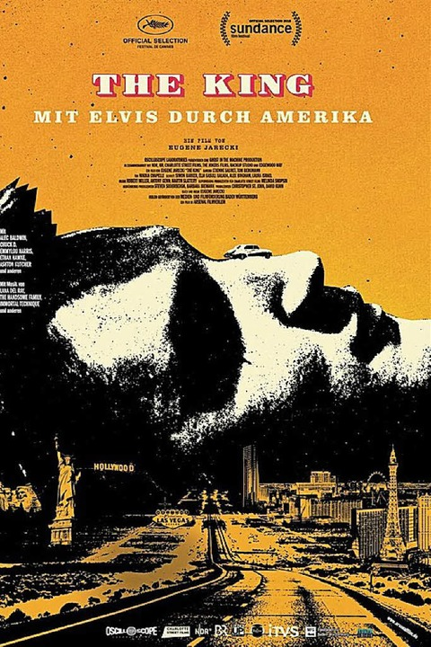 The KingMit Elvis durch AmerikaFilmplakat  | Foto: ZVG