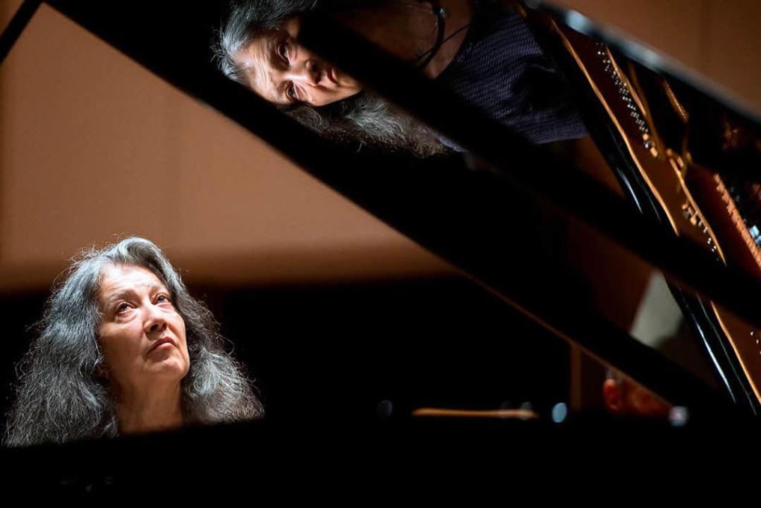 Grande Dame des Klaviers: Martha Argerich  | Foto: dpa