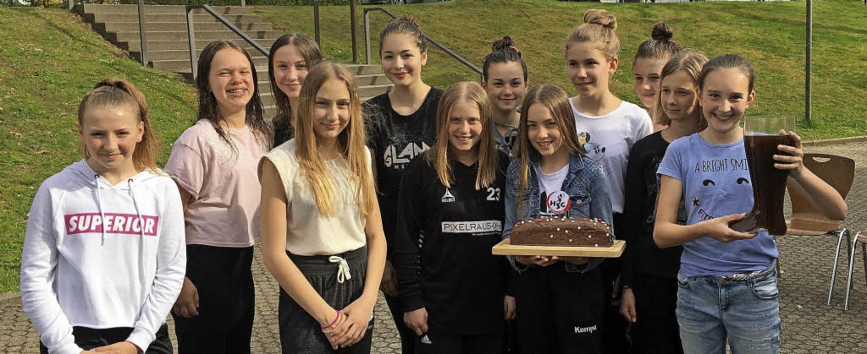 <BZ-FotoAnlauf>HSG Ortenau Süd:</BZ-Fo...terer, Hannah Klumpp und Nele Engler.   | Foto: Verein