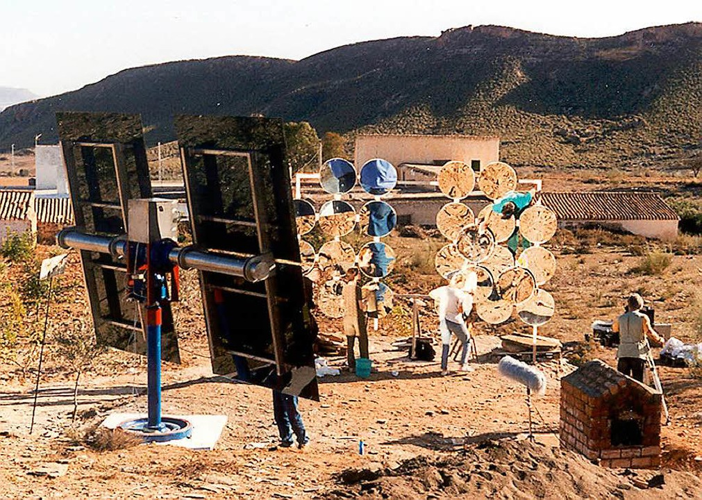 Die Sunmachine hatte ihren Auftritt be...om und Wärme mit Sonnenkraft gewinnen.  | Foto:  privat