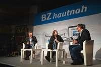 Große Würfe und kleine Scherze beim BZ-Kandidatentalk in der Wodanhalle