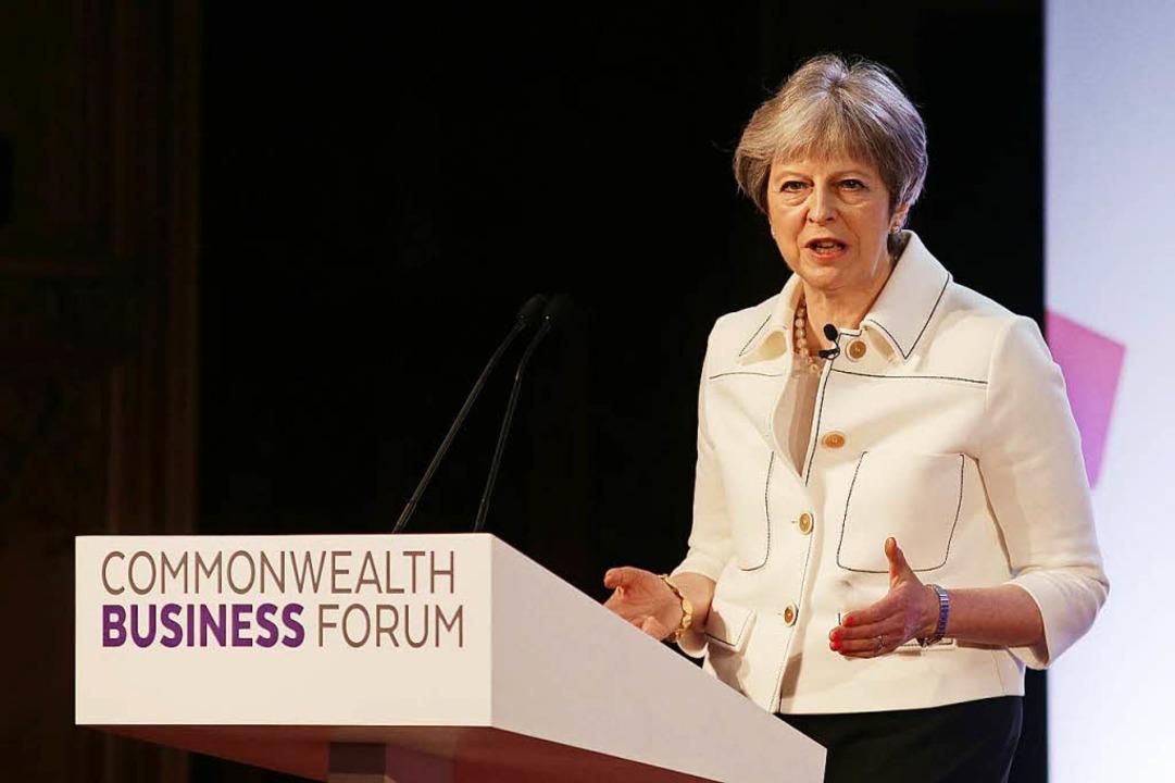Theresa May  | Foto: AFP
