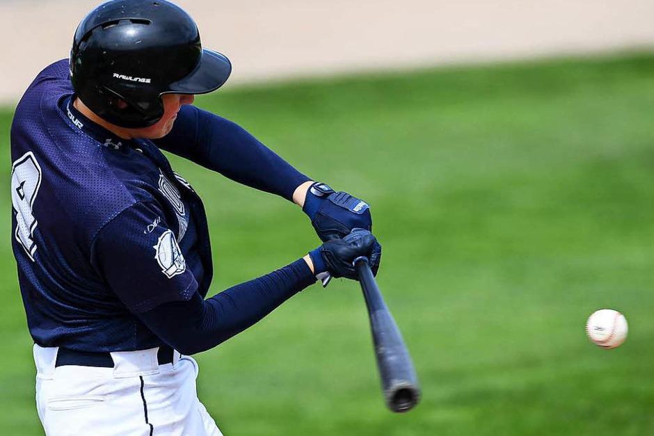 Die Zweitliga-Baseballer der Neuenburg Atomics sind wieder in die Saison gestartet. (Foto: Patrick Seeger)