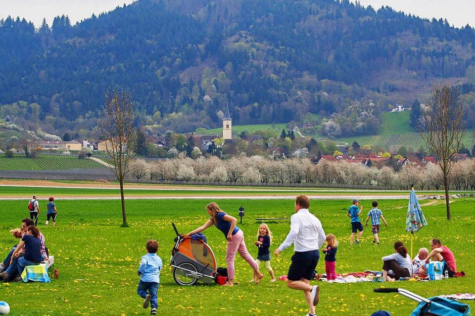 Auf der Spielwiese vor dem Café artis haben die Kinder freien Auslauf. (Foto: Markus Donner)