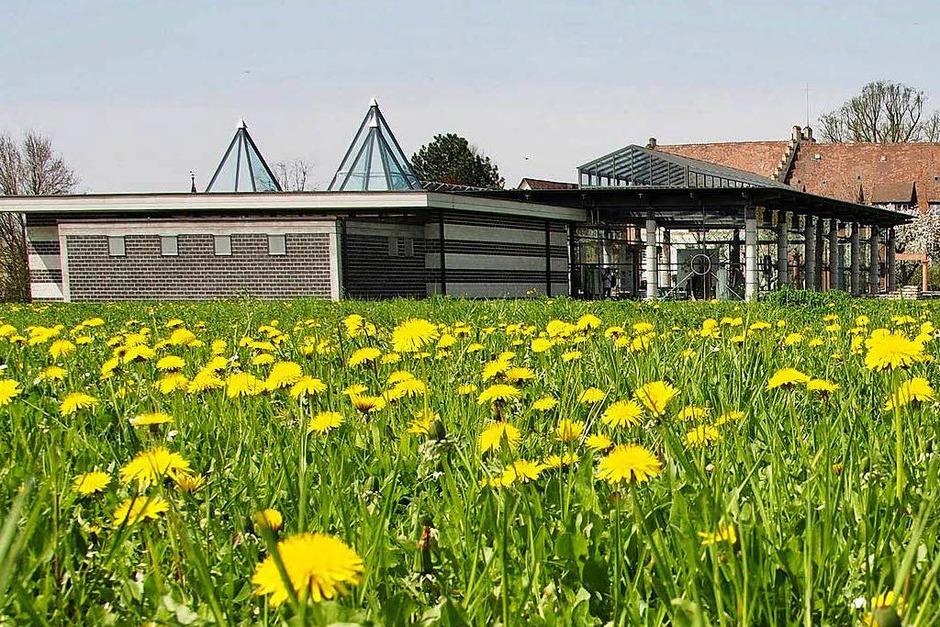 Gelbe Tupfer vor der villa urbana. (Foto: Markus Donner)
