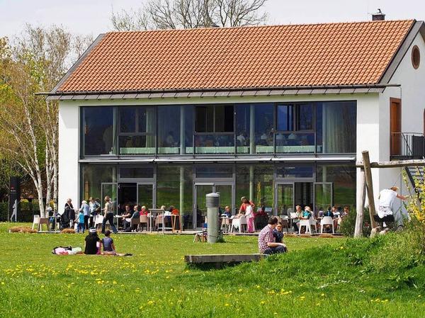 Café artis in der Villa artis.
