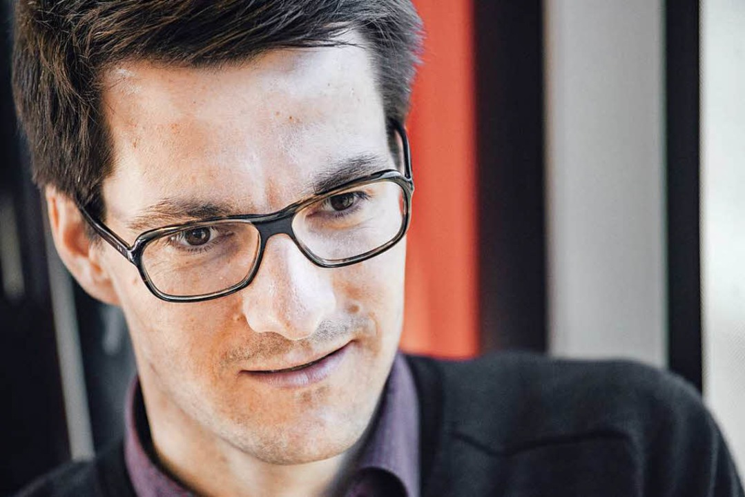 Ein Schreiben von OB-Kandidat Martin H...er Erstwähler kürzlich im Briefkasten.  | Foto: Fabio Smitka