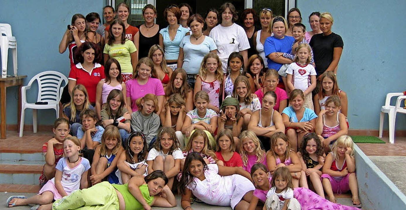 Das Bild einer Mädchenferienfreizeit d...eisjugendreferates in früheren Jahren   | Foto: Archivfoto: Landratsamt