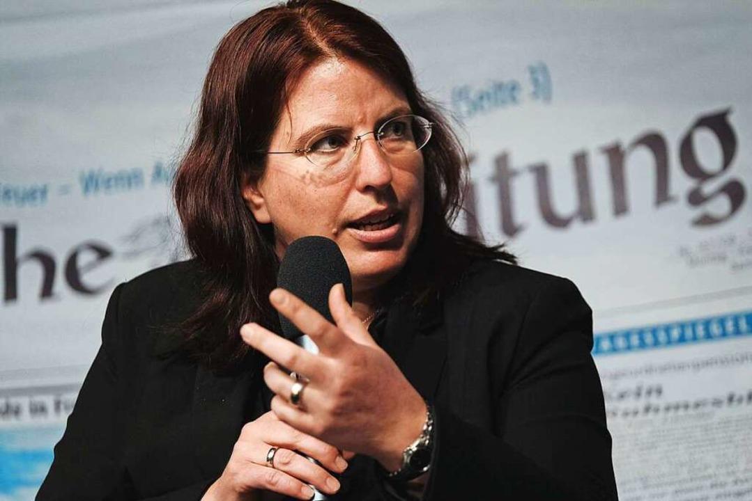 Monika Stein (linkes Bündnis)  | Foto: Miroslav Dakov