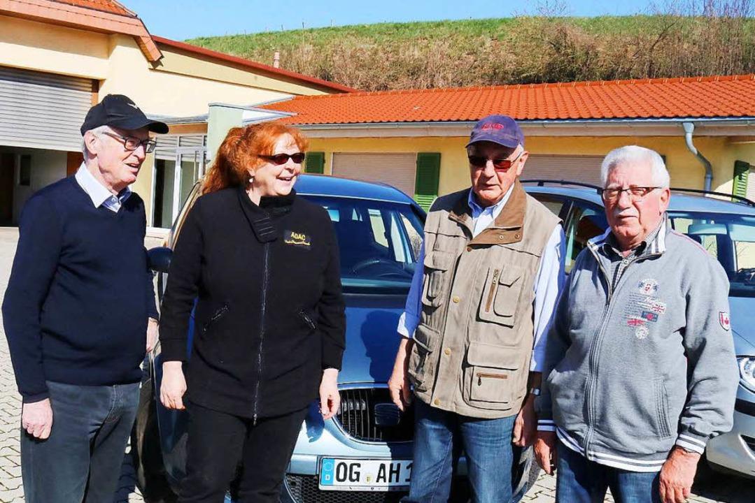 Mitglieder des Ettenheimer Seniorenrat...kel, Herbert Andlauer und Leo Enderle   | Foto: Herbert Birkle