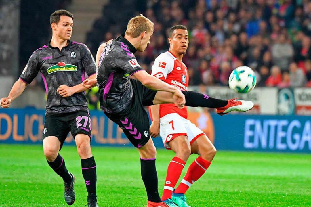 Keine Punkte für den SC in Mainz  | Foto: Achim Keller