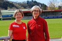 Zwei Seniorinnen vom SV Kirchzarten auf Medaillenkurs