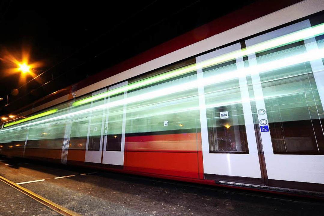 Die Straßenbahnlinie 3 war betroffen. (Archivbild)  | Foto: Thomas Kunz
