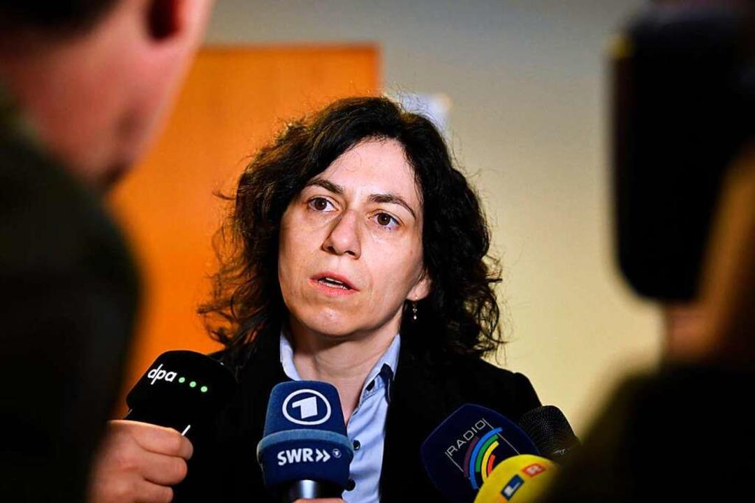 Die Freiburger Rechtsanwältin ist Vertreterin des Kindes.  | Foto: dpa