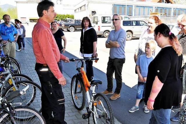 In Wehr gibt es Fahrräder für nur zwei Euro