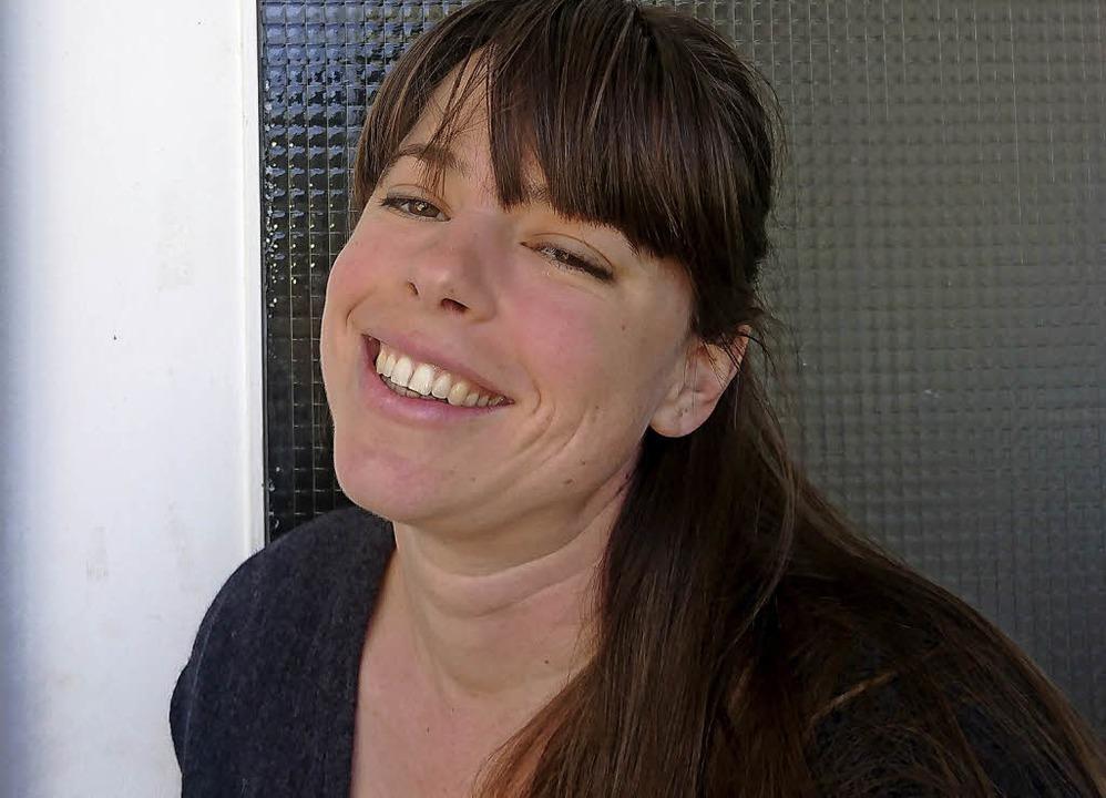 Dorothee Rottmann freut sich auf ihr Café.   | Foto: Privat