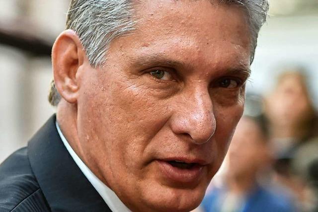 Kubas neuer Präsident Miguel Diaz-Canel: Loyaler Parteisoldat mit Sinn für Humor