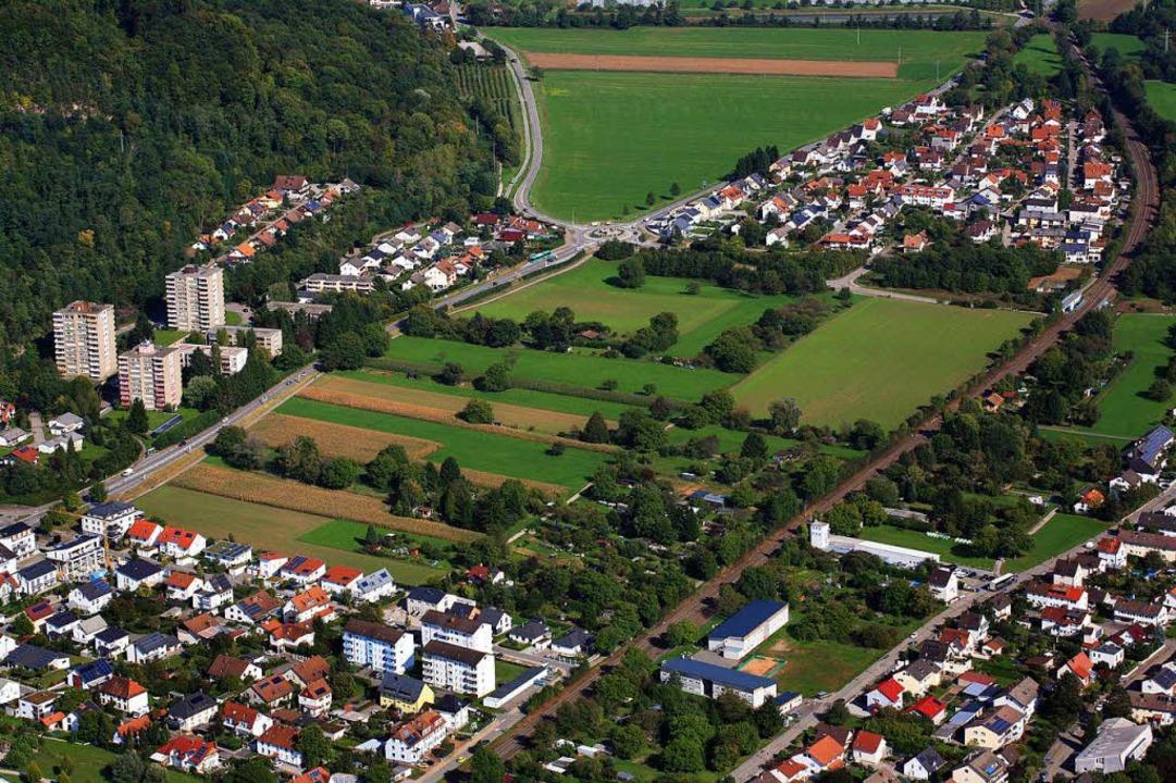Das neue Baugebiet Kapellenbach Ost is...roße Konkurrenz beim Landkauf machen.