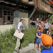 Famileinmitmchprogramm Stein auf Stein im Museum Vogtsbauernhof
