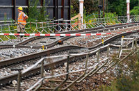 Laut Studie zwei Milliarden Euro Schaden wegen Rastatter Bahnsperrung