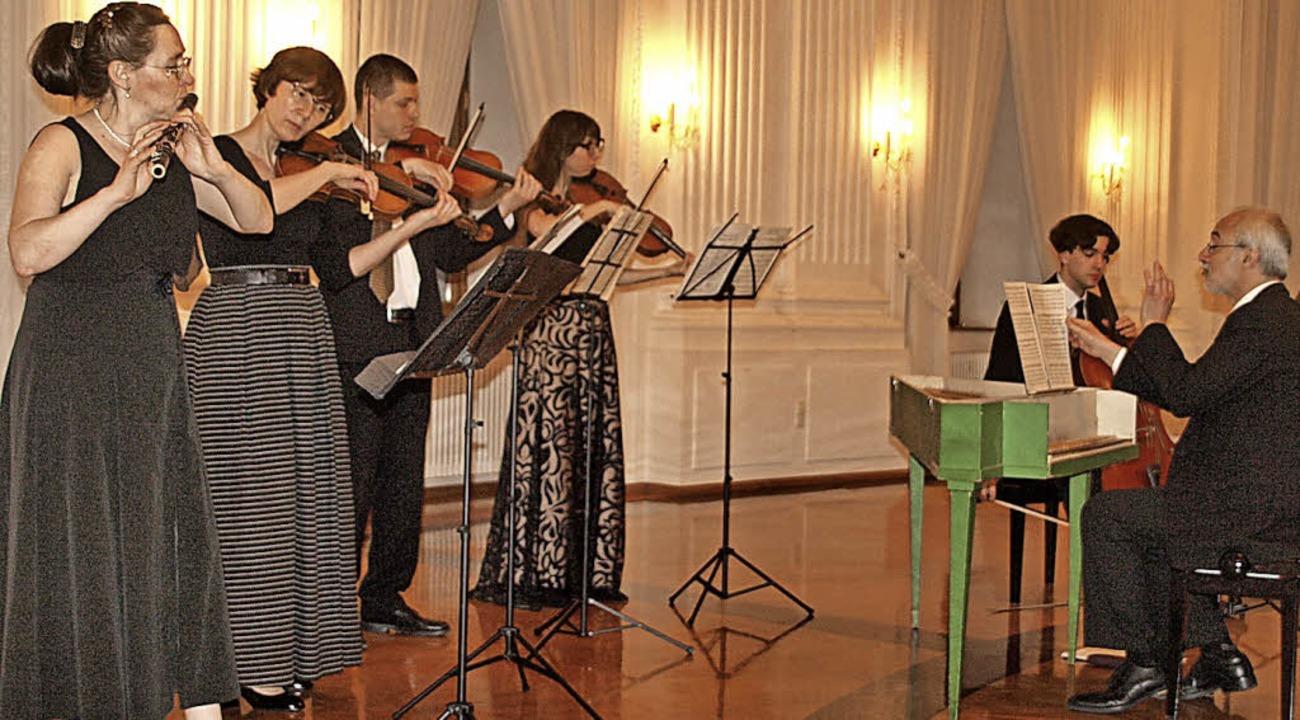 Das sechsköpfige Ensemble der Kammerso... umgesetzte sinfonsche Werke von Haydn  | Foto: Karin Stöckl-Steinebrunner