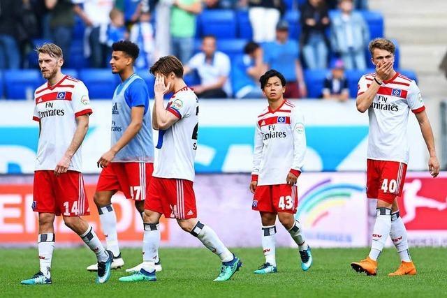Der HSV schwankt zwischen Resthoffnung und Abstiegsrealität