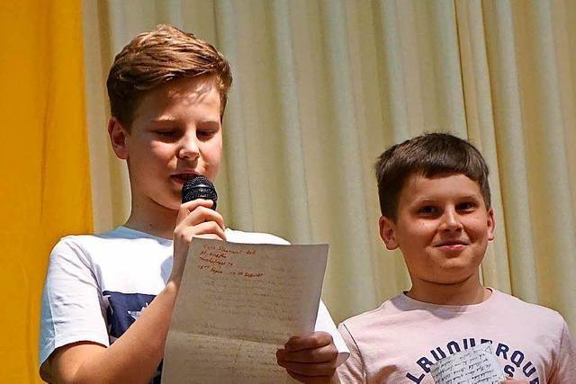Junge Autoren begeistern beim Gerhard-Jung-Wettbewerb in Zell