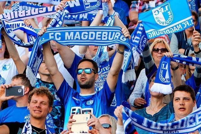Magdeburg gelingt zum ersten Mal Aufstieg in die zweite Liga