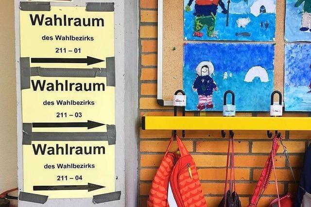 OB-Wahl in Freiburg: Der Wahlsonntag und das Ergebnis im Liveticker